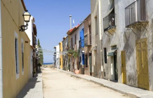 costa blanca tabarca calle vecinal y pesquera