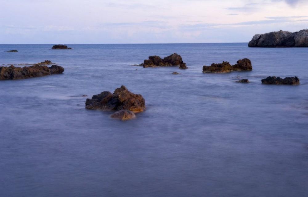 costa blanca tabarca mar tranquilo y calmado