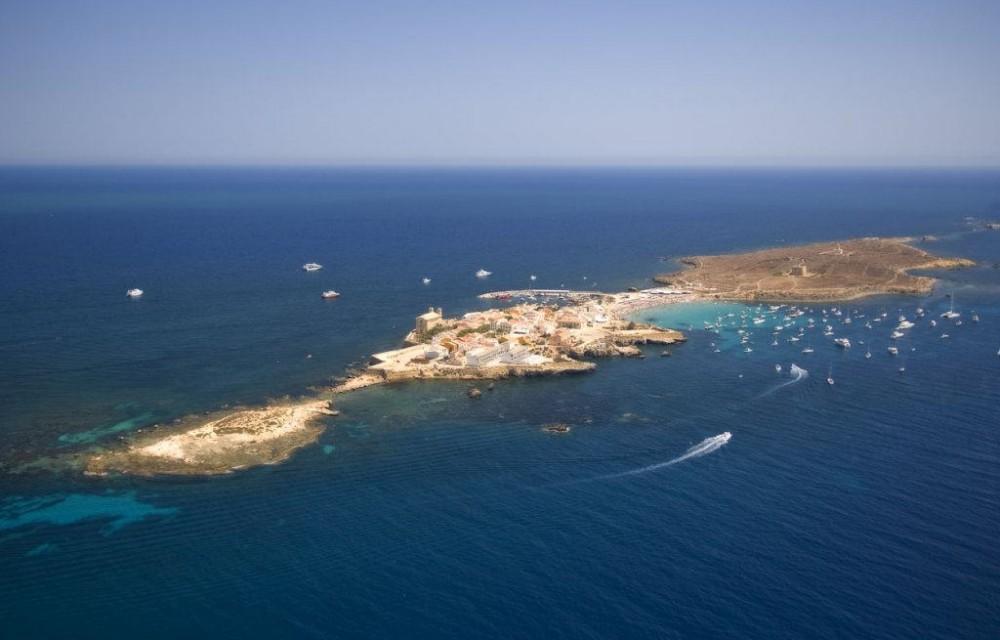 costa blanca tabarca panoramica bonita de la isla