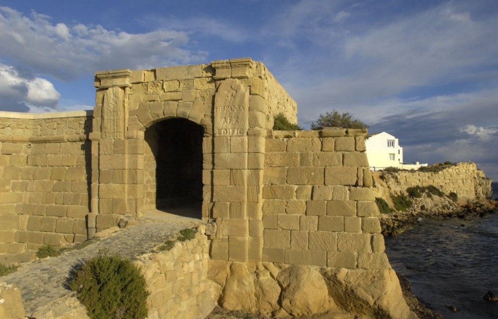 costa blanca tabarca puerta romana de san gabriel