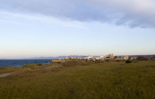costa blanca tabarca vista del mar y el campo