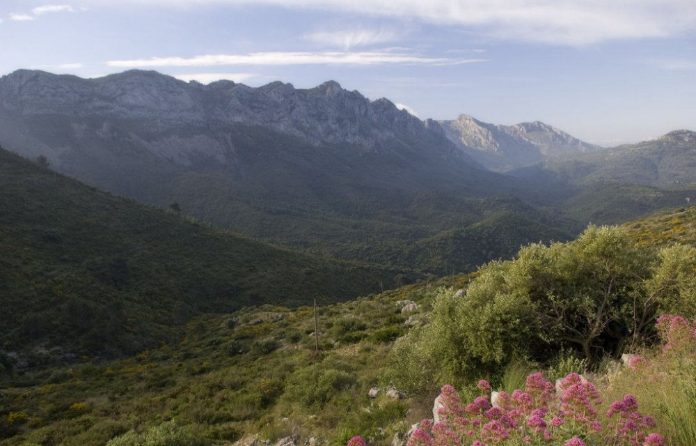 costa blanca tarbena bonita vista del valle