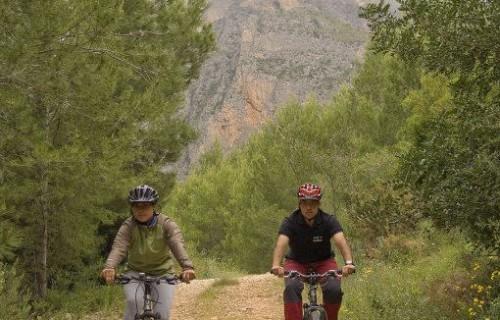 COSTA BLANCA Mountain bike por la Sierra de Tárbena