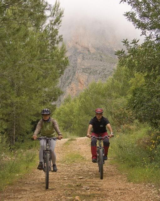 costa blanca tarbena ruta en bicicleta por el monte