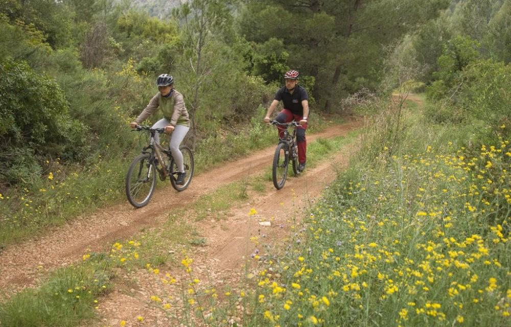 costa blanca tarbena ruta por el monte en bicicleta