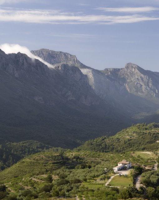 costa blanca tarbena soleado valle