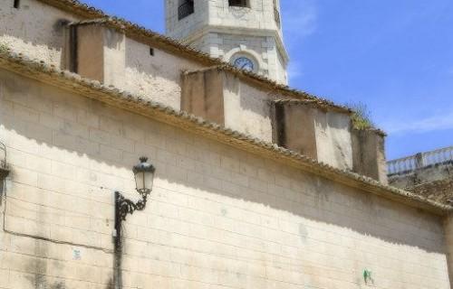 COSTA BLANCA MARINA ALTA TEULADA Iglesia de la localidad