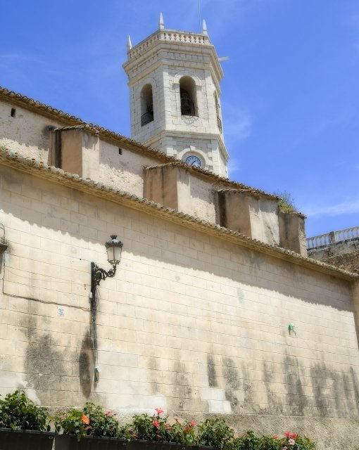 costa blanca teulada iglesia de la localidad