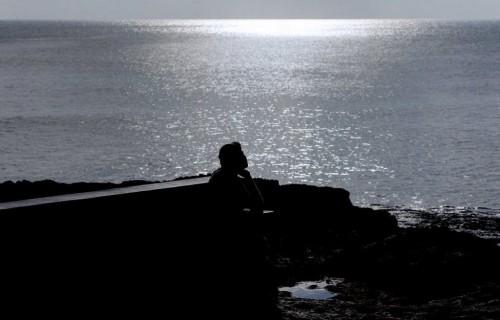 COSTA BLANCA TORREVIEJA estatua al lado del mar
