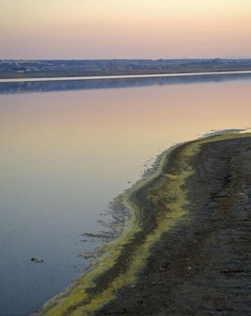 costa blanca torrevieja parque natural lagunas la mata atardecer