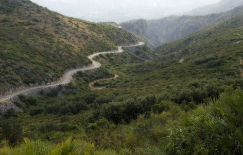 COSTA BLANCA Carretera a LA VALL D´EBO