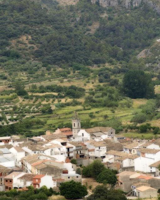 costa blanca vall debo pueblo panoramico