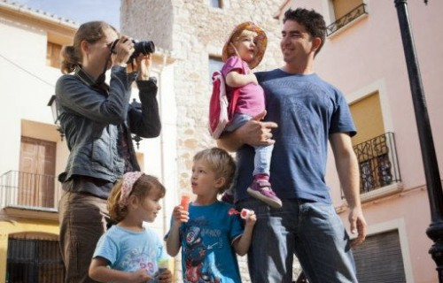 COSTA BLANCA VALL DE POP MURLA familia haciendo turismo