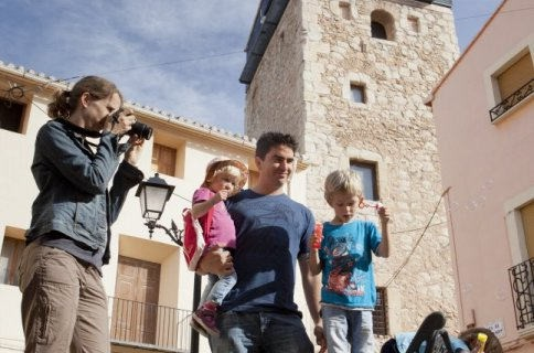 COSTA BLANCA VALL DE POP MURLA familia divirtiendose