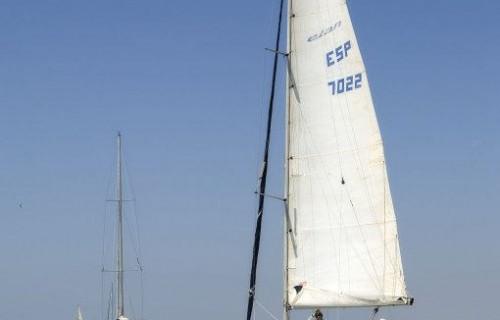 costa blanca vela barco en el mar