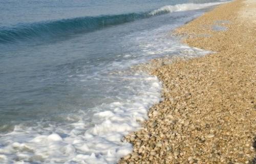 COSTA BLANCA VILLAJOYOSA orilla del mar y rocas