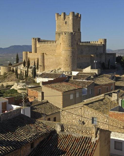 costa blanca villena castillo imperial del pueblo