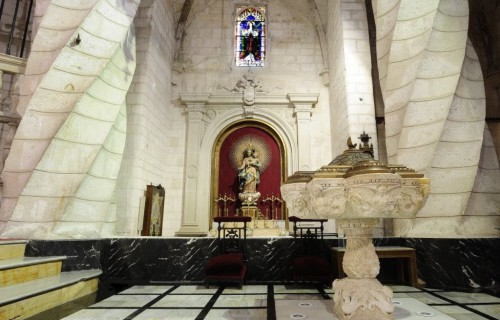 COSTA BLANCA VILLENA sacristia de la iglesia