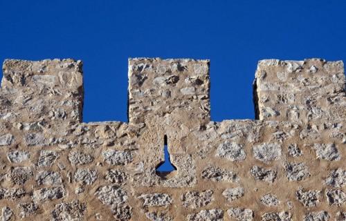 COSTA BLANCA VILLENA muralla del castillo de la ciudad