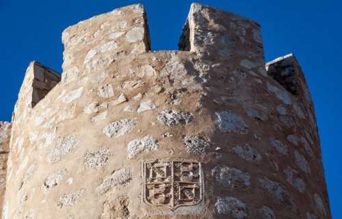 COSTA BLANCA VILLENA punto de la torre mas elevado