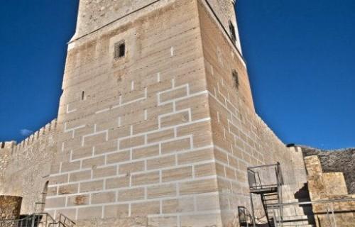 COSTA BLANCA VILLENA torre castillo