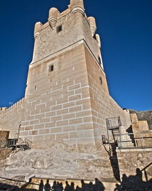costa blanca villena torre del castillo