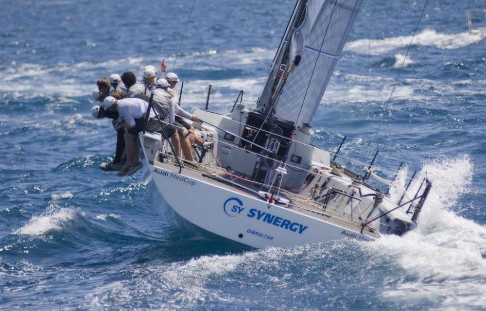 costa blanca volvo ocean race contrapeso de tripulantes