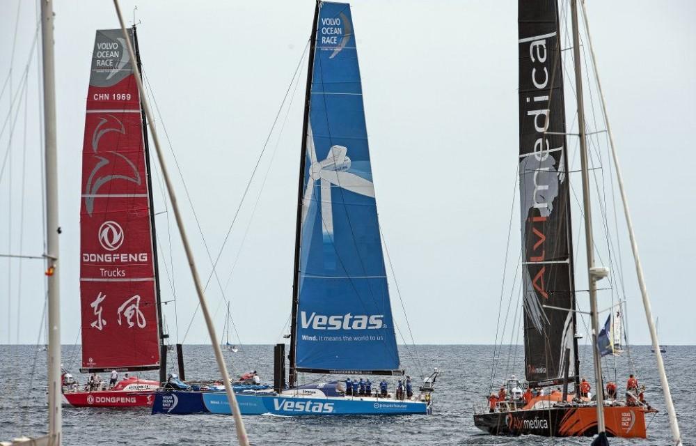 costa blanca volvo ocean race equipos compitiendo