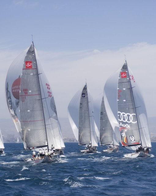 costa blanca volvo ocean race velas al viento