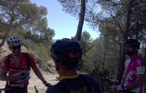 Ruta en bicicleta por Busot