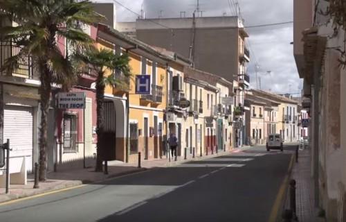 pueblo hondon de los frailes costablanca